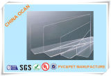 0,35 mm de grosor de hoja rígida de PVC transparente para el plegado de verificación