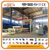 Marken-vollautomatischer Kleber-konkrete hohle Block-Ziegeleimaschine China-Hongfa