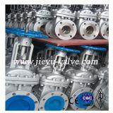 Válvula de compuerta con bridas de acero industrial Carbol frenar el aumento