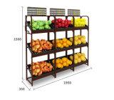 Горячая продажа овощей и фруктов для установки в стойку/Дисплей мебель для сетей супермаркетов