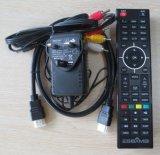 Receptor de Satélite dois sintonizadores HD DVB S2/S Localizador de satélite no prato Zgemma H. 2s