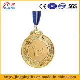 Medallas del metal para las competiciones de deportes, abejas de deletreo, partido