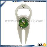 Personalidade de metal personalizado Golf Divot Tool e marcador de Esferas