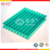 Sabic 100% uno strato opalino 10mm rivestito UV laterale del policarbonato di Multiwall (YM-HL-0001)