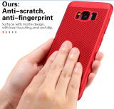 Caja dura del teléfono móvil de la caja de la PC mate fina de Utral para Samsung S8