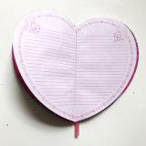 В форме сердечка ноутбук для детей