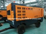 Utilizado para el compresor de aire diesel movible del receptor de papel de agua del taladro 700cfm y 18bar