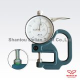 Testeur de 0-10mm épaisseur mécanique pour le papier, cuir