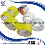 품질 보장 OEM 물은 노란 명확한 패킹 테이프를 활성화했다