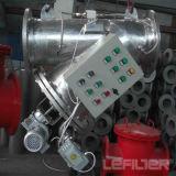 Filtro de retrolavado automático para el acondicionamiento de las aguas industriales