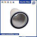 Cartuccia di filtro pieghettata presa dalla turbina a gas di industria