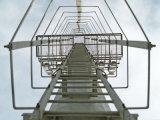 25m 단계 사다리를 가진 30m 6각형 다각형 높은 돛대 전등 기둥
