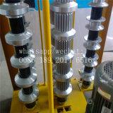 Rodillo manual del panel de la azotea del revestimiento que prensa que forma la máquina