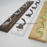 Bello amo di prima scelta dei vestiti di legno & amo della scheda del metallo (ZH-7003)