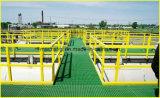 ガラス繊維の梯子及び手すりのFiberlgass階段踏面、FRPの手すりシステム。 クリップ