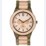 OEMの多機能の木の腕時計の高級な木製表
