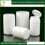 150ml白いカプセルの薬剤のPEのプラスティック容器