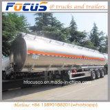 12 바퀴 42m3 연료 Aramco를 위한 알루미늄 유조 트럭 트레일러