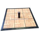 Портативный ПВХ взаимосвязанных плитками на полу пластиковые Dance плитками на полу для продажи