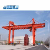 Recipiente superior de Rmg do fabricante de China que segura os guindastes de pórtico 100t