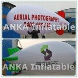 Раздувной самолет блимпа гелия воздушного шара