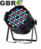 54*3W 3NO1 Fase RGB LED Wash PAR 64 Luz CAN