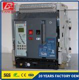 Le courant évalué 2000A, la tension évaluée 690V, 50/60Hz, disjoncteur d'air de qualité, Acb multifonctionnel a fixé le type usine de 4p directe