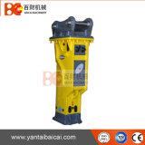 L'alta qualità ha fatto tacere il tipo martello idraulico dell'interruttore di demolizione dell'escavatore di Soosan Sb70