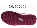 Deux couleurs PU Kids Size Sneaker Shoes
