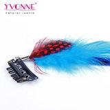 毛の拡張の卸し売り実質の羽クリップ