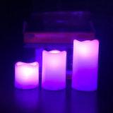 Vela de cintilação elétrica amigável do diodo emissor de luz da flama de Eco