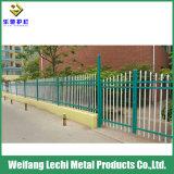 No-Fading et aucune pollution clôture en acier galvanisé pour la sécurité