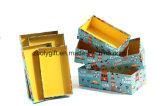 Modificar el rectángulo de regalo para requisitos particulares jerarquizado papel de empaquetado de la impresión del diseño