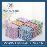Caixa de jóia brilhante do papel do brilho (CMG-MAY-005)