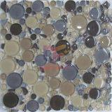 Rund und Irregular Shape Glass Mosaic Tile (CFC316)
