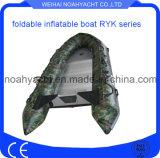 Crogiolo gonfiabile pieghevole di barca del pontone