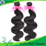 Уток волос Remy волны волос девственницы высокой ранга 7A свободный