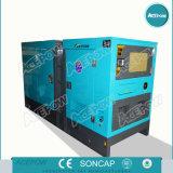 тип комплект 15kVA молчком или открытый генератора двигателя Changchai тепловозный