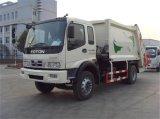 De professionele Vrachtwagen van de Pers van het Huisvuil van de Compressor van de Hygiëne van de Levering van 15m3 de Grootte van de Tank