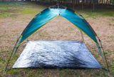 خارجيّ يرفع ويخيّم شاطئ خيمة