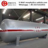판매를 위한 50cbm LPG 미끄럼 탱크 25 톤 LPG 탱크
