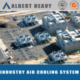 Trocador de calor refrigerado a ar de aço inoxidável