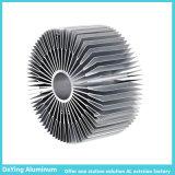 Profils en aluminium industriels de radiateur de précision en aluminium d'usine