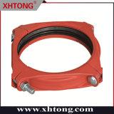 Raccordi scanalati standard ASTM giunto flessibile con spallamento in ferro duttile