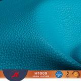 Het glanzende Leer van de Korrel Pi van het Litchi van de Oppervlakte voor Bank/Handschoenen/Handtas