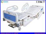 Krankenhaus-Möbel-manuelle doppelte Erschütterung-Zentral-Esteuerte Fußrollen medizinisch/Krankenhaus-Bett