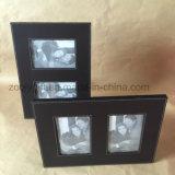 A qualidade 4X6, foto de couro do plutônio 5X7 molda o frame relativo à promoção do couro do presente