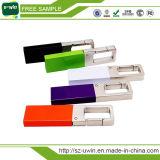 Azionamento promozionale dell'istantaneo del USB della parte girevole del metallo con il marchio personalizzato