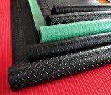 Matten van de Vloer van de Fabriek van Qingdao de Goedkope Fijne Geribbelde Industriële Rubber