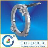 低いクリアランスの急速な管の切口および斜角機械装置